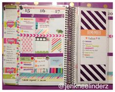 My midweek layout in my Erin Condren Life Planner. @jenkneelinderz