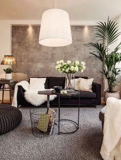 I AM TOTALLY IN LOVE WITH THIS ROOM, ESPECIALLY THE WALL TREATMENT BEHIND THE LOUNGE!! - SIMPLY STUNNING!! (I would love to know how this was done!!) #️⃣