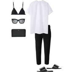 Minimal outfit, summer minimalist, minimal classic, minimal chic, c Casual Mode, Casual Chic, Chic Chic, Minimal Chic, Minimal Classic, Monochrome Fashion, Minimal Fashion, Minimalist Fashion Summer, Look Fashion