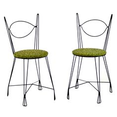 Pair of Tony Paul Chairs | From a unique collection of antique and modern chairs at http://www.1stdibs.com/furniture/seating/chairs/