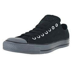 Converse Mens Chuck Taylor All Star Low Ox Sneakers Black 7 DM US BlackThunder Gum * Check out the image by visiting the affiliate link Amazon.com on image.