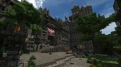nordic city Kaltenstrom Minecraft Project