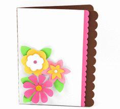 Silhouette Design Store - View Design #46148: a2 lori whitlock flower card
