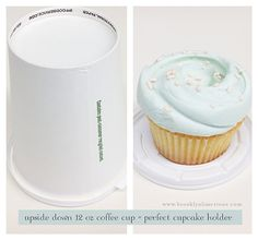 From Brooklyn Limestone (It's the simple things in life - like finding out how to transport a cupcake w/minimal frosting damage - how did I live without this knowledge!!)