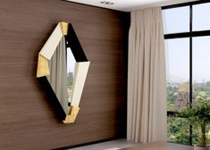 Miroir, mod: GAND Feuille D'or, Curtains, Furniture, Home Decor, Mirror, Moldings, Environment, Templates, Solid Wood