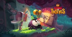 promo video and banners for game King of Thieves from Zeptolab Bg Design, Game Ui Design, Game Art, Gaming Banner, Game Props, Splash Screen, Game Background, Game Concept Art, Logo Concept