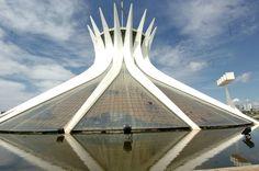 cathedral brasilia   oscar niemeyer