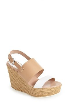 Kenneth Cole Reaction 'Oscar Go' Platform Wedge Sandal (Women) available at #Nordstrom