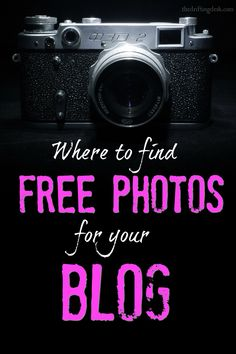 Paying for pictures for your blog can really add up, especially for new bloggers. Here's where to find beautiful free to use photos for your blog.