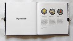 Self-Promotional Portfolio Books by Lucas Freeze, via Behance