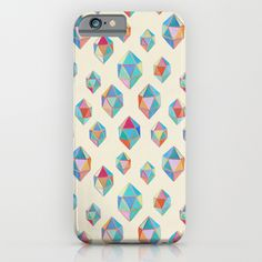 """Floating Gems"" iPhone 6 Case by Micklyn on Society6."