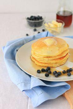 Italian note: Ricotta Blueberry Pancakes