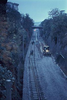 Kadikoy train tracks, Istanbul, Turkey