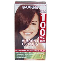 100 Color Vitamin Enriched Gelcreme Color No 415 Soft Mahogany Brown By Garnier -- Visit the image link more details. Note:It is affiliate link to Amazon. #eyes