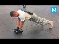 Super Soldier Extreme Army Workout | Muscle Madness - YouTube