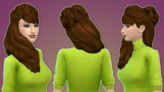 """grilledcheese-aspiration: """" grouchyoldsims: """"  JESSICA HAIR 