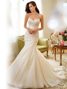 Sophia Tolli Spring 2015 Wedding Gowns   http://www.fabmood.com/sophia-tolli-spring-2015-wedding-gowns/