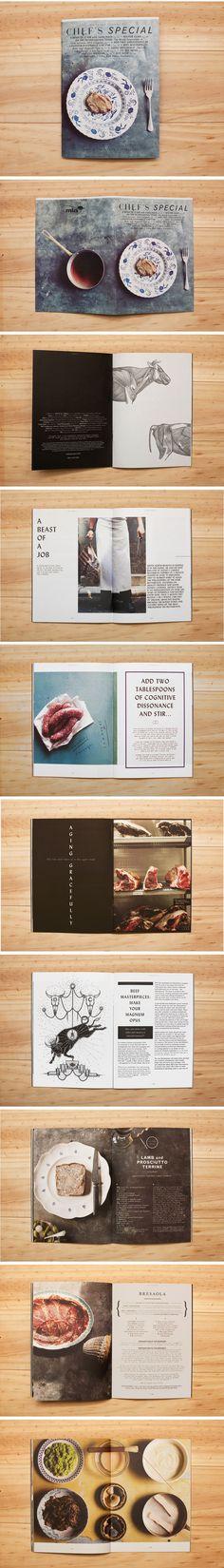 Magazine design inspiration. Just beautiful.