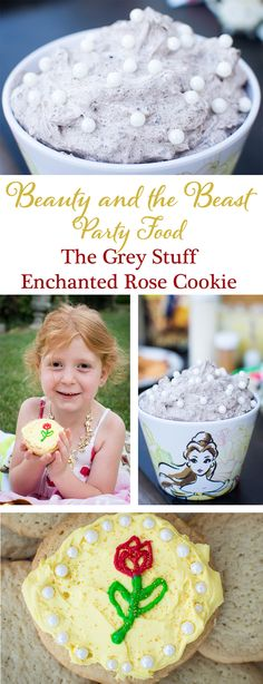 Love The Grey Stuff? Want to make your own Enchanted Rose Cookies? Check out these easy Beauty and the Beast party food recipes!