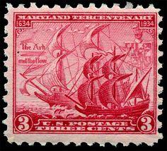 US Stamps. 1934  Scott # 736