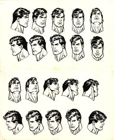 jose luis garcia lopez: The many faces of Superman.