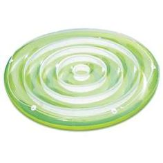 Buy Summer Waves x Inflatable Splash Island Swirl Ring Pool Tube Float, Green at Wish - Shopping Made Fun