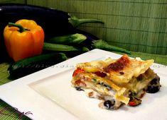 Lasagna delicata con verdure, ricetta raffinata   Oya