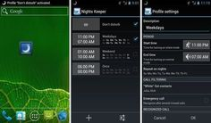 Nights Keeper, desactiva las notificaciones por la noche en Android