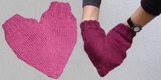 Pärchenhandschuh in Herzform - Strickanleitung - Stricklinge