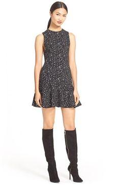 Alice + Olivia 'Garnr' Print Drop Waist Dress available at #Nordstrom