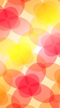 Attachment for abstract wallpaper for iPhone 6 - colorful elips