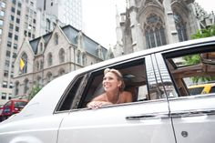 A beautiful bride arrives at The New York Palace on her big day!