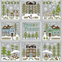Frosty Forest Series from Country Cottage Needleworks -- click to see more