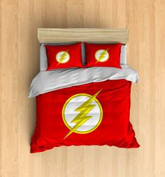 The Flash Bedding  Superhero Duvet Cover The Flash by DesignyLand