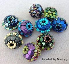 Flower Basket Beaded Bead | Craftsy