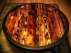 Torched wood - - looks terrific!