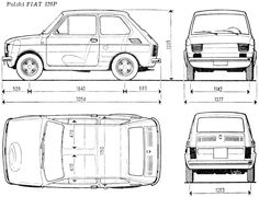FSO Fiat 126P Polski Fiat 126, Moto Car, Fiat Abarth, Kit Cars, Retro Cars, Motor Company, Car Pictures, Cars And Motorcycles, Floor Plans