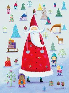 Santa by Julia Fletcher