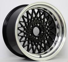 GTA Mesh Wheel Set of 4 17 x 9 Black Reproduction Trans Am Ws6, 1987 Buick Grand National, Replica Wheels, Pontiac Firebird Trans Am, Black Mesh, Gta, Hawks, Third, Autos