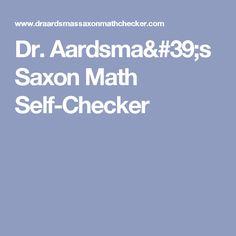 Saxon math 76 31 35 lessons quizzes tests and answer keys dr aardsmas saxon math self checker fandeluxe Images