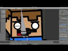 I learned how to do animation in Blender. I use Gimp to draw the character and Blender to make him dance. In this tutorial I teach you how to use shapekey.