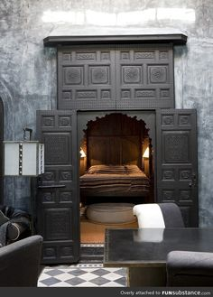 This would be amazing. A secret room or a private nook for couples in there own home to just escape the world!