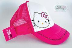 Hello Kitty Gorra Rosa con Swarovski $229.00