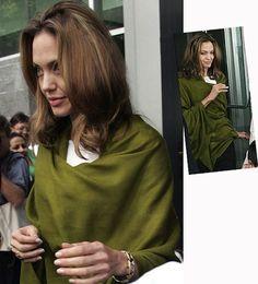 Pashmina wrap Angelina Jolie