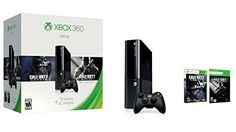 Xbox 360 E consoleXbox 360 500GB hard drive1-month Xbox Live Gold membershipCall of Duty Ghosts download codeCall of Duty Black Ops II download codeXbox 360 wireless controllerXbox 360 headsetThe Xbox 360 500GB Holiday Bundle features two free games, Call of Duty Black Ops II and Call of Duty Ghosts, and 1 Month of Xbox Live Gold, for a limited time this Holiday. Wi-Fi is built-in for easier connection to the world of entertainment on Xbox Live, where HD movies and TV stream in an instant…