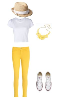 """""""The """"Hope"""""""" by meggrace04 on Polyvore featuring RE/DONE, Tommy Hilfiger, Gap and Converse"""