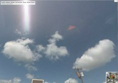 Google maps help people do many things, but tracking unidentified flying objects (UFOs) is something new and unique.