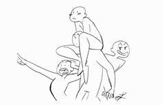 "croxovergoddess: My ""draw the squad"" memes so... - cROXover Goddess"