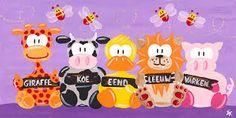 Afbeeldingsresultaat voor vrolijke meisjes babykamer schilderijen