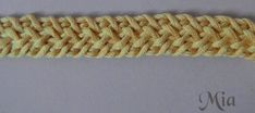 crochet cord step by step